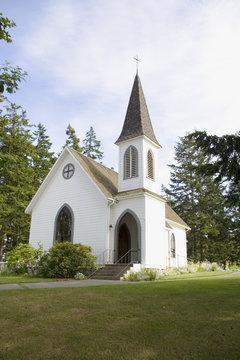 Center Church on Lopez Island