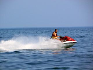 water motorcycle