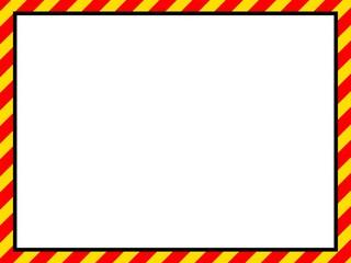 gelb rot Schraffur Rahmen
