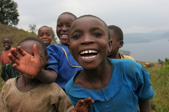 sourire d'enfants rwanda