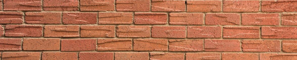 Panoramic Brick Wall Texture