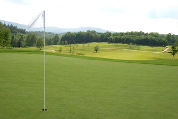 Golf - flag