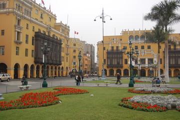 Stadtansicht Lima