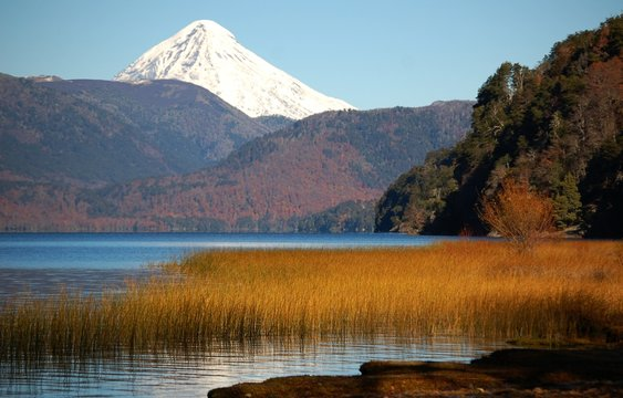 Vulkanlandschaft in Patagonien