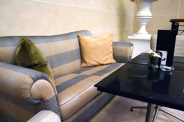 Sofas and table