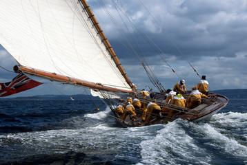 Foto auf Leinwand Segeln Fife Regatta / Schottland / The Lady Anne