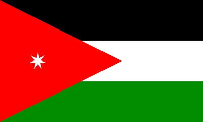 jordanien fahne jordan flag
