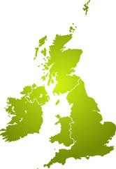 Illustration of the british isles