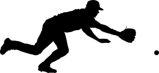 Sport silhouette - baseball player