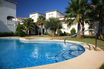 Villas with swimming pool