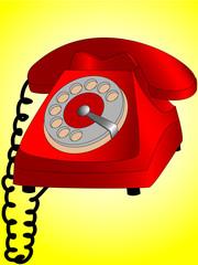 Dial telephone
