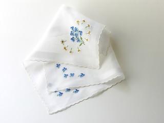 batist handkerchiefs with embroideries
