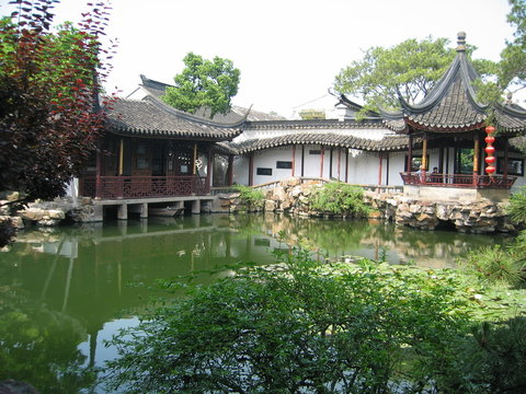 Suzhou - The Garden of the Master of the Nets