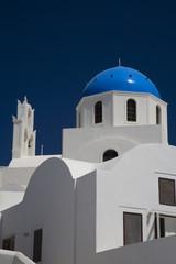 Cupola blu a Santorini