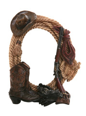Cowboy Picture Frame