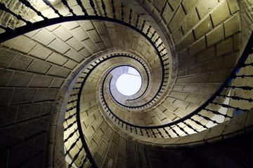 Photo sur Plexiglas Spirale three spiral staircases