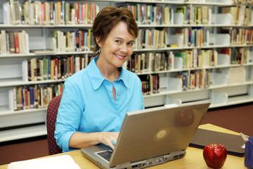 School Library - Teacher