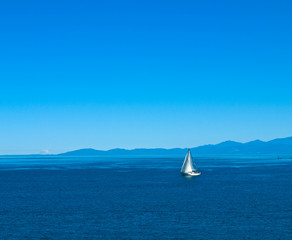 sailboat in calm waters