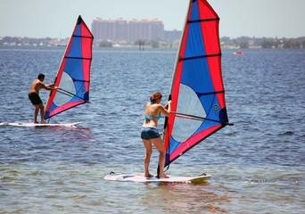 Sailboarders