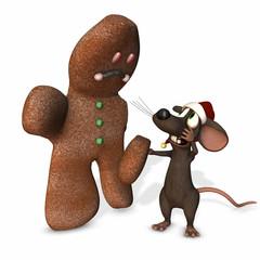 Christmas Mouse 3