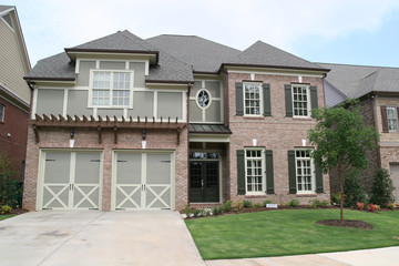 Traditional Brick Two Story
