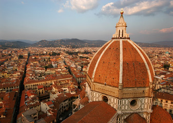 View on Florence Duomo