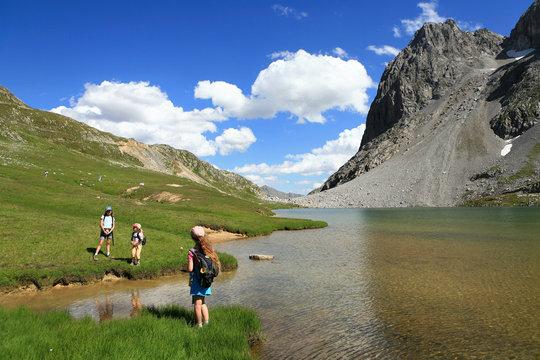 Randonnée  lacs et montagne