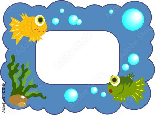 fish frame\