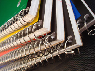 Spiral notebooks back to school 720