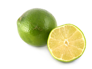 One lime and half