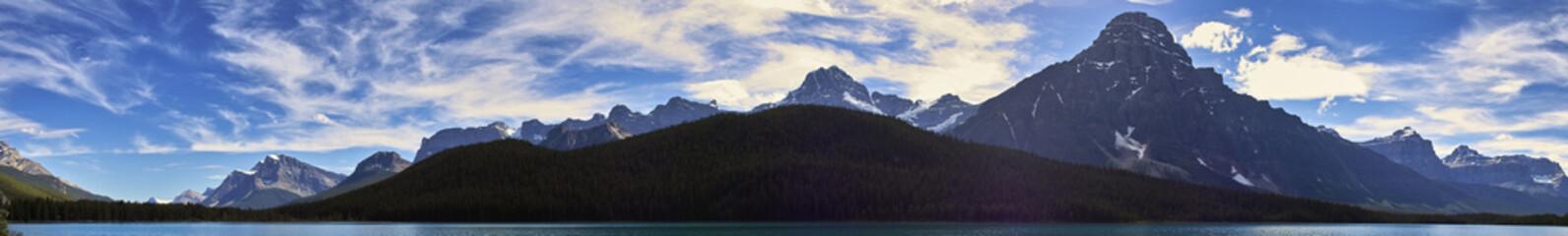 Panorama in den Kanadischen Rocky Mountains