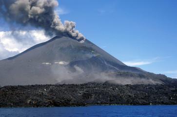 Poster Volcano Krakatau