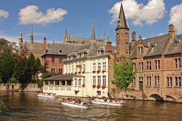 Foto auf Acrylglas Brugge Brugge Kulturstädte