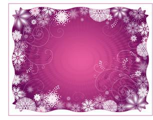 purple christmas background,vector illustration