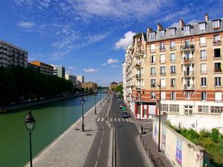 Bords de canal, Paris 19