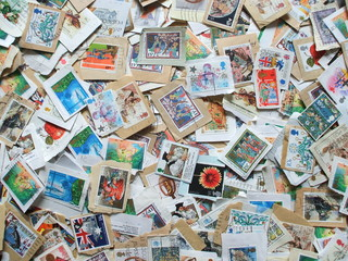 A Collection of British Commemorative Postage Stamps.