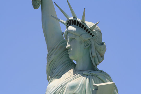 The Statue of Miss Liberty