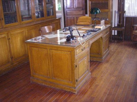 Le bureau de Marie Curie