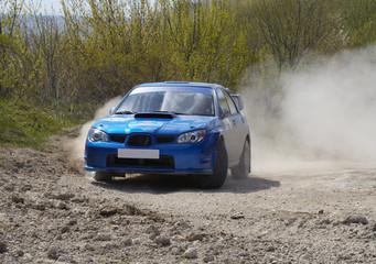 Printed roller blinds Fast cars Rallye