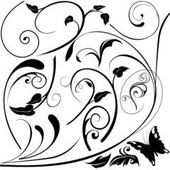 Floral elements E - popular floral segments