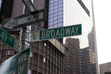Broadway and 49th Street in NYC