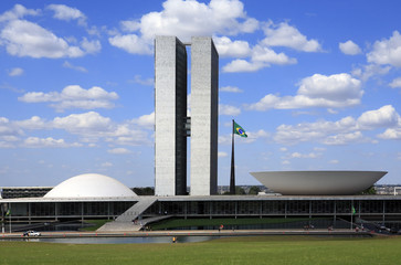 The National Congress of Brazil.