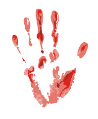 Bloody trace image