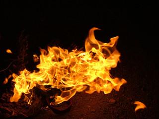 danse du feu