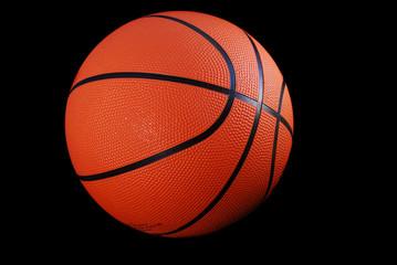 Basketball, Black Isolated
