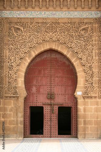 Porte d 39 entr e d 39 une mosqu e au maroc photo libre de droits sur la banque d 39 images - Acheter une porte d entree ...
