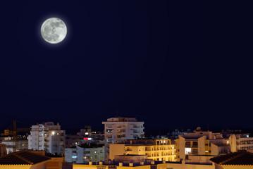 Poster Full moon Moonlight