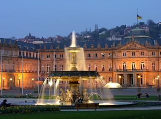 Neues Schloss in Stuttgart Stadtmitte