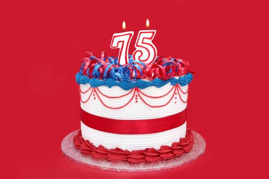 75th Cake