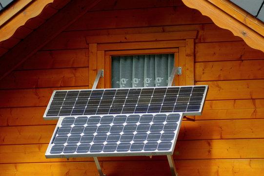 Kleine Solaranlage